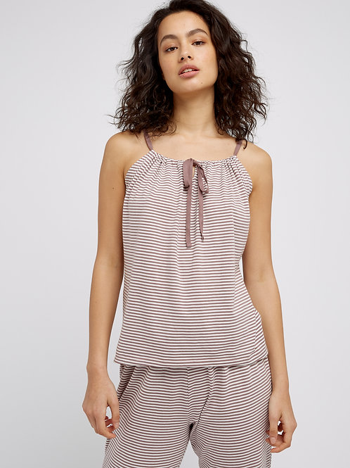 Stripe Pyjama Camisole | PEOPLE TREE