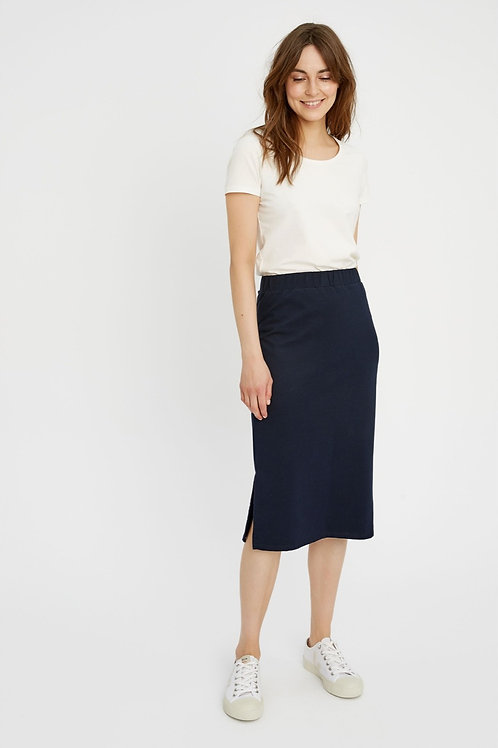 Keira Pencil Skirt in Navy I PEOPLE TREE