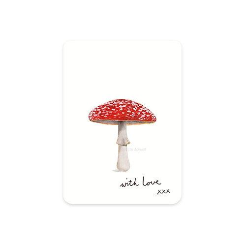 Minikarte Fliegenpilz