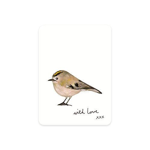 Minikarte Wintergoldhähnchen