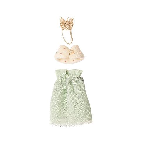 Königinnen Kleid für Maus 15cm | MAILEG