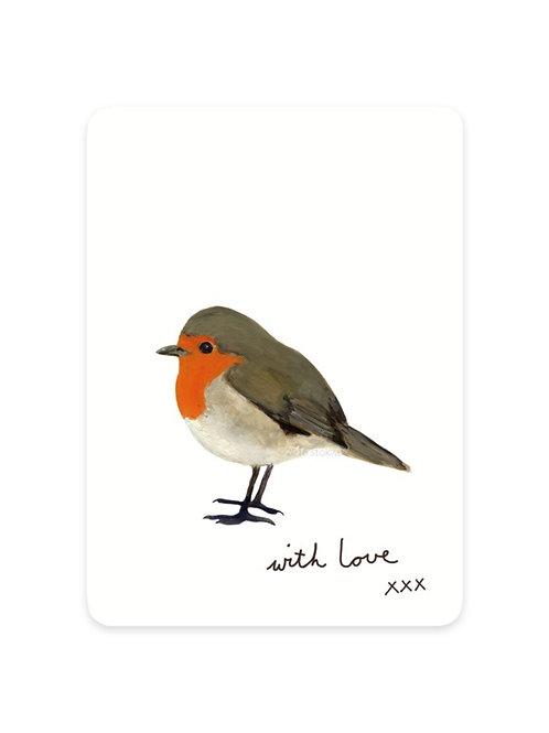 Minikarte Rotkehlchen