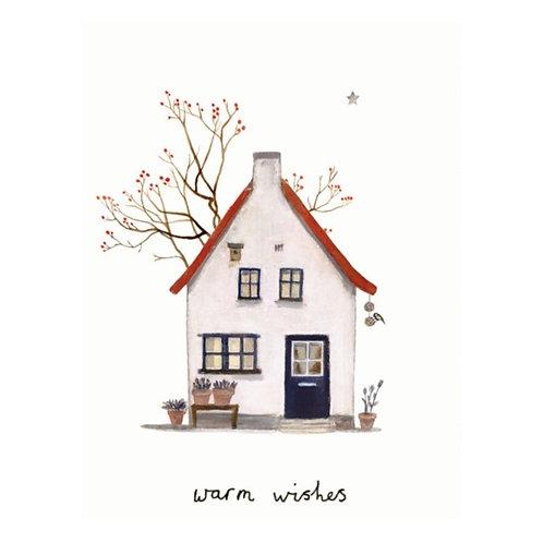 Karte Haus mit Beerenbaum