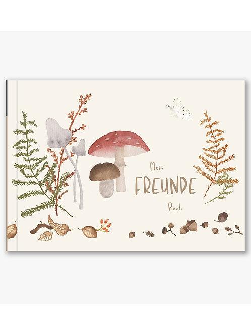 Freundebuch Wald