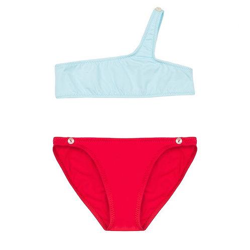 Bikini SHIREL Blue and Red I PACIFIC RAINBOW