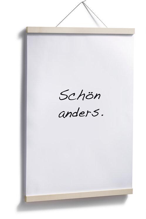 Bilderleiste A2 Ahorn/Eiche