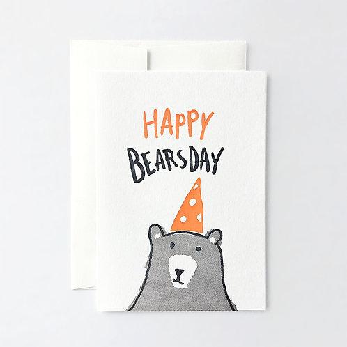Happy Bearsday