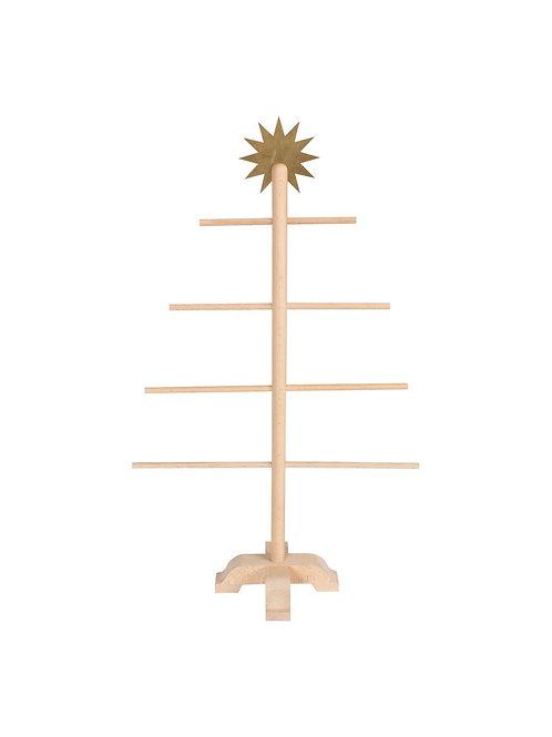 Weihnachtsbaum/Adventskalender aus Holz
