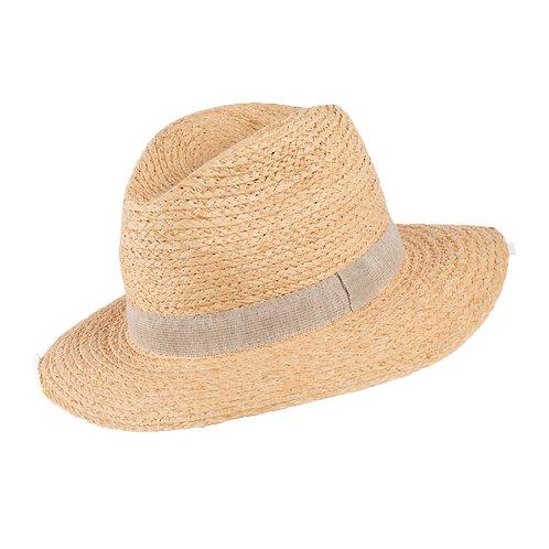 Strohhut mit UV-Schutz   PURE PURE