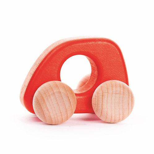 Miniauto Holz Rot