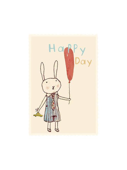 Geschenkanhänger Happy day I MAILEG