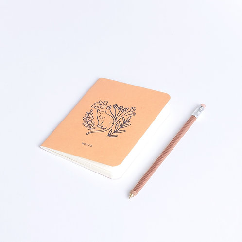 Mini Pocket Book Katze