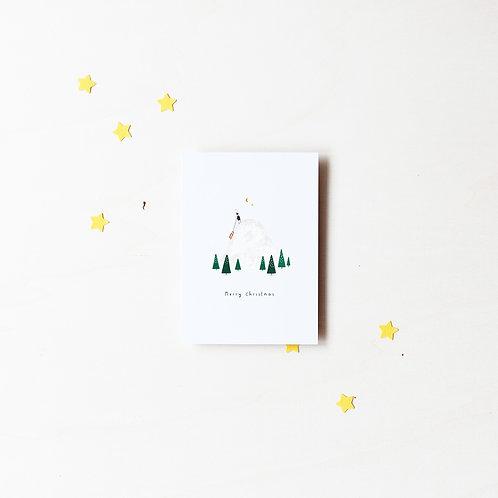 "Karte ""Merry Christmas"""