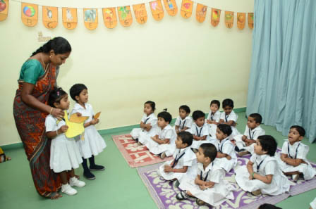 Pre KG – Story telling session
