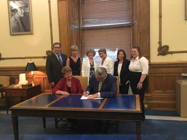 House Bill 1116 Signed - June 4, 2018