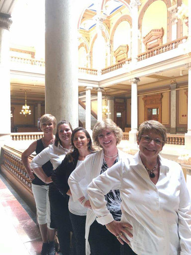 The Ladies...at the Statehouse!