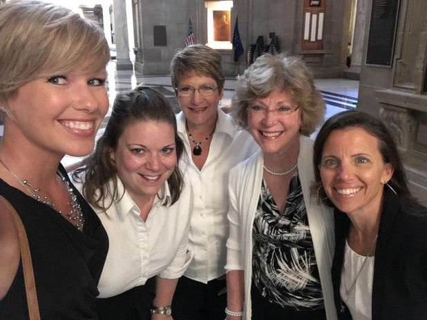 IDHA Members at the Indiana Statehouse