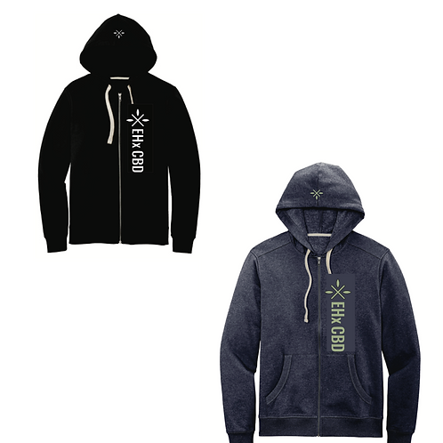 100% Recycled Fabric Full Zip Hoodie