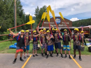 Rafting Bachelor Party