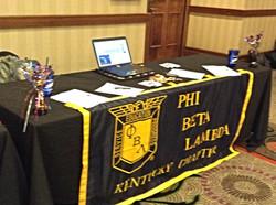PBL table at FBLA SLC