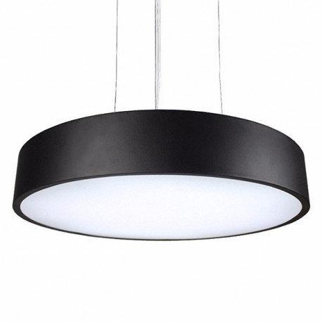 Lampe suspendue en aluminium noir, 36W