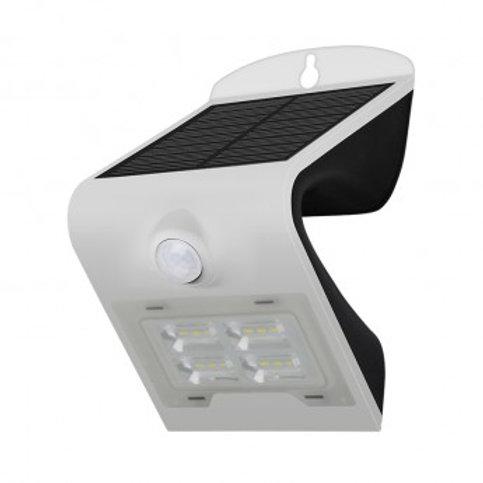 Applique LED cadre blanc, solaire, 02W, avec détecteur