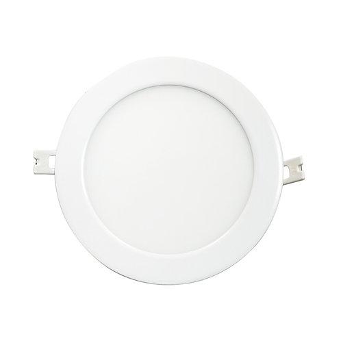 Downlight LED cadre blanc, 12W