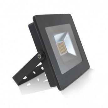 Projecteur LED extérieur cadre anthracite, extra-plat, 30W
