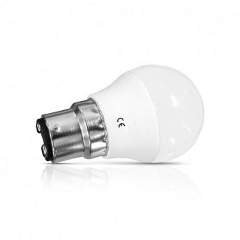 Ampoule LED B22 G45, bulbe, 6W (x2)