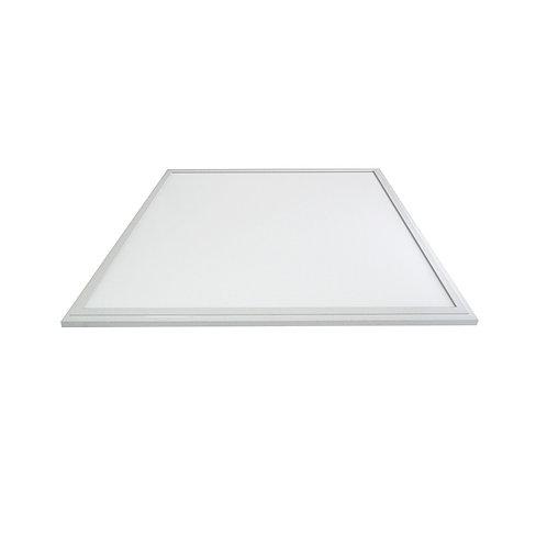 Dalle LED carrée cadre blanc, 36W, IP44