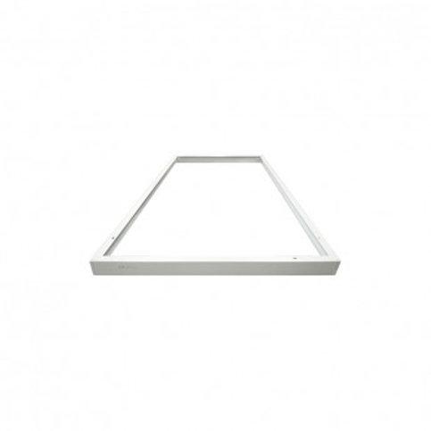 Kit d'intégration encastré pour dalle LED 600x1200mm, finition blanc