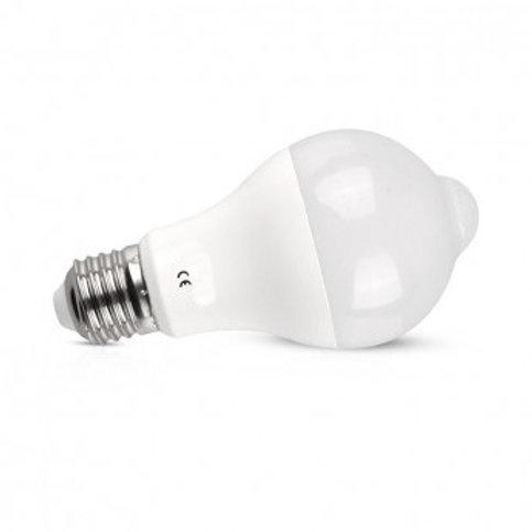 Ampoule LED E27 avec détecteur, 12W