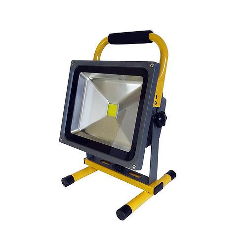 Projecteur LED extérieur, portatif et orientable, IP65, 30W