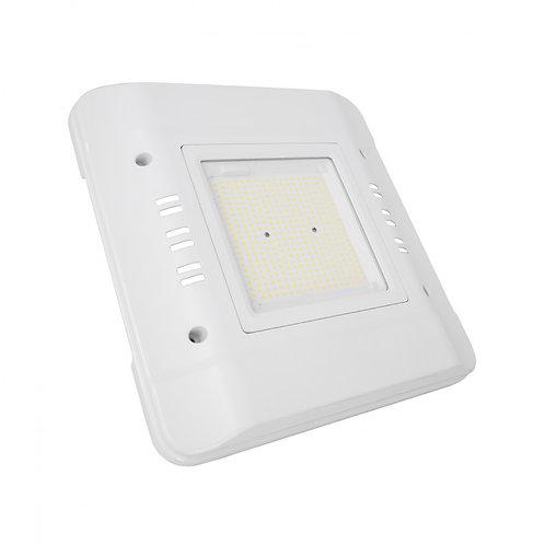 Projecteur LED blanc, spécial station-service, 100W, IP65