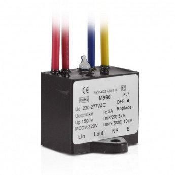 Protection LED parasurtenseur ecréteur avec voyant testeur