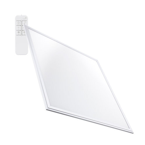 Dalle LED SMD carrée cadre blanc, dimmable, 40W