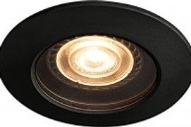Encastré LED SLV de plafond extérieur cadre noir, 5W