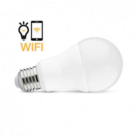 Ampoule LED E27 connecté Wifi, 12W, RGB + blanc (de 2700°K à 6500°K), dimmable
