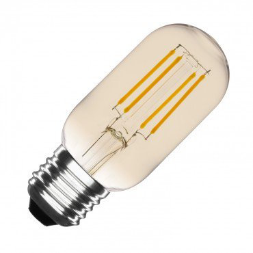 Ampoule LED E27 T45, filament tory, 4W, gold, dimmable