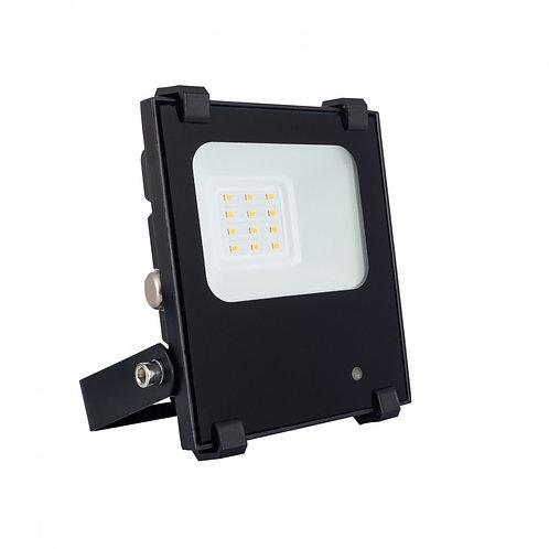 Projecteur LED extérieur cadre noir, 10W, dimmable, UGR22
