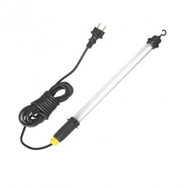Lampe baladeuse de tavail tubulaire noire 4W
