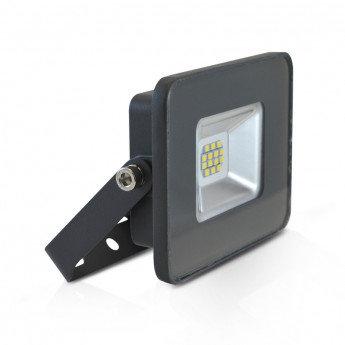 Projecteur LED extérieur cadre gris, extra-plat, 10W