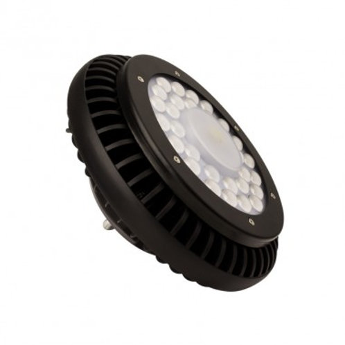 Cloche UFO LED Driverless noire, IP65, 100W