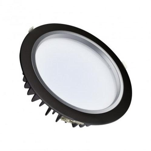 Downlight LED Samsung cadre noir, 25W