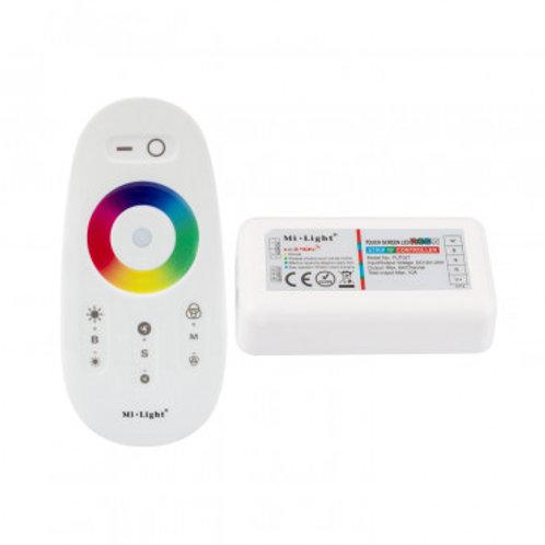 Contrôleur tactile pour ruban LED RGBW, 120W, 12-24V, dimmable