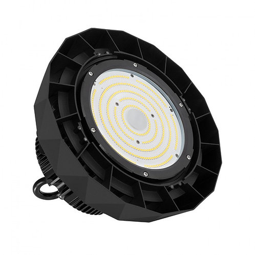 Cloche UFO HBS LED Samsung dimmable noire, IP65, 200W