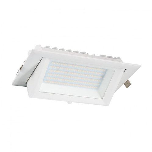 Projecteur encastrable LED Samsung SMD rectangulaire blanc, 60W, sélectionnable