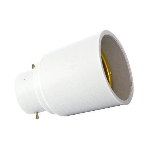 Adaptateur de culot B22 pour ampoule E27