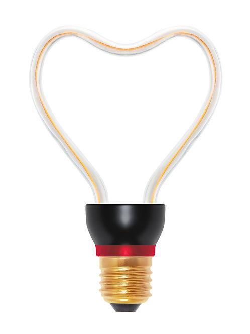 Ampoule LED courbe coeur, 8W