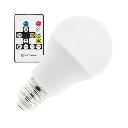Ampoule LED E27 A60, bulbe, 9W, sélectionnable, dimmable